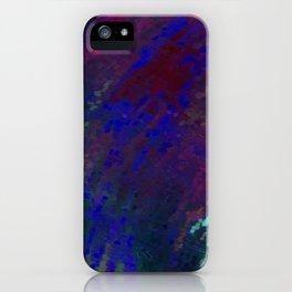 Crying Rain iPhone Case