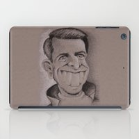 tom selleck iPad Cases featuring Tom by chadizms