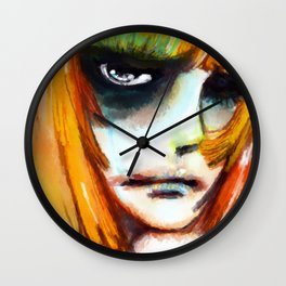 SO HAPPY Wall Clock