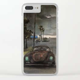 Tourmaline (oil on canvas) Clear iPhone Case