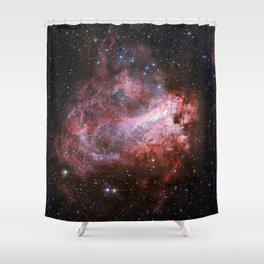Star Forming Region Messier 17 Shower Curtain