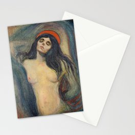 Madonna by Edvard Munch Stationery Cards