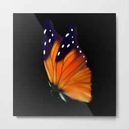 Monarch Butterfly Butterfly Insect Metal Print