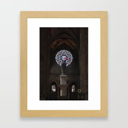 Cathedral of the Sea Framed Art Print
