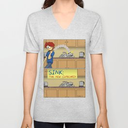 Sink: The New Cupboard Unisex V-Neck