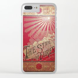 The Star of the Fairies Book Clear iPhone Case