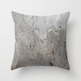 Textured Wall rustic decor Throw Pillow