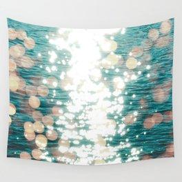 Sun glitter - golden light Wall Tapestry