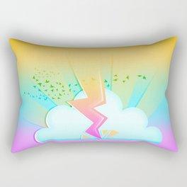 Lightning festival Rectangular Pillow