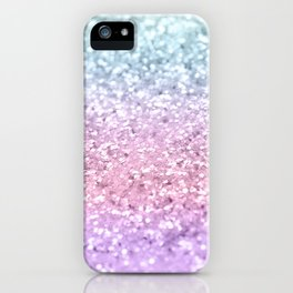Unicorn Girls Glitter #4 #shiny #pastel #decor #art #society6 iPhone Case