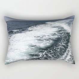 Boat Ride Rectangular Pillow