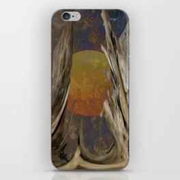 Surreal Planet iPhone Skin
