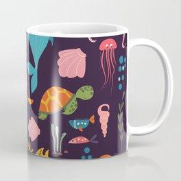 Sea creatures 001 Coffee Mug