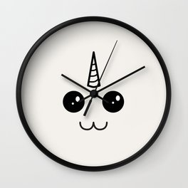 Pip of the constant smile Wall Clock