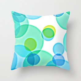 Dimpled Bubbles Throw Pillow