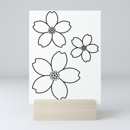 -Sakura-桜 Mini Art Print
