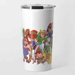 Super Smash Bros Travel Mug