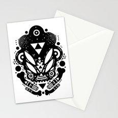 s k u l l Stationery Cards