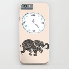Elefante reloj iPhone 6s Slim Case