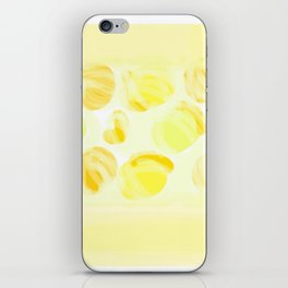 Cry Onions Smell Garlic iPhone Skin