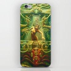 DJ Seahorse iPhone & iPod Skin