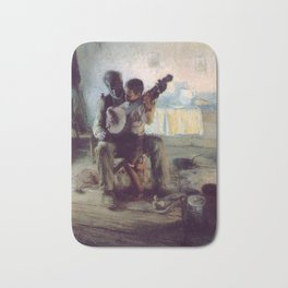 The Banjo Lesson by Henry Ossawa Tanner Bath Mat