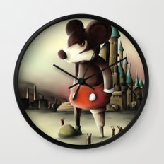 Mickey's Kingdom Wall Clock
