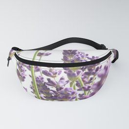 Purple Lavender #3 #decor #art #society6 Fanny Pack