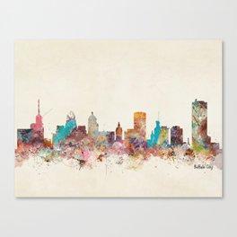 buffalo city new york  Canvas Print