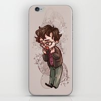 will graham iPhone & iPod Skins featuring will graham by krakenface