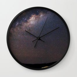 Milky Way in Chile Wall Clock