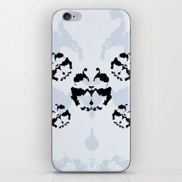 Rorschach inkblot iPhone Skin