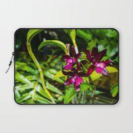 dark purple orchids Laptop Sleeve