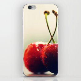 Gourmet cherry iPhone Skin