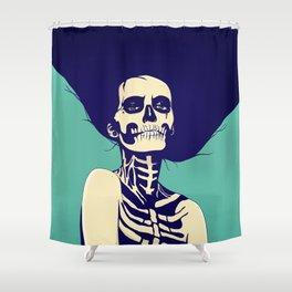 Día de las Muertas Shower Curtain
