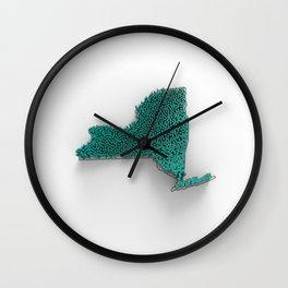 NY-PD-3D Wall Clock