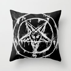 Stanic Pentagram Throw Pillow