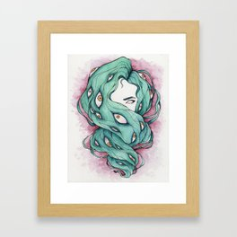 Good Hair Day Framed Art Print