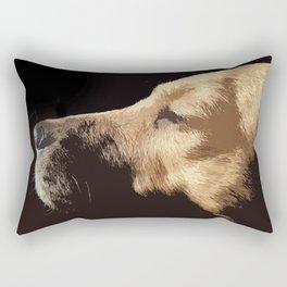 Van Dog Rectangular Pillow