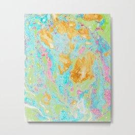 Acid on Easter (Alcohol Inks Series 02) Metal Print