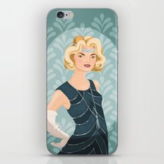Lady Rose iPhone & iPod Skin