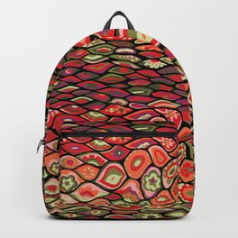 70s psychedelic Backpack
