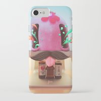 arnold iPhone & iPod Cases featuring Arnold by Flester