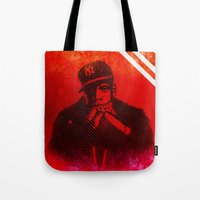 jay z Tote Bags featuring Jay by Fimbis