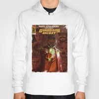 guardians of the galaxy Hoodies featuring Guardians of The Galaxy  by Juan Hugo Martinez Illustrations