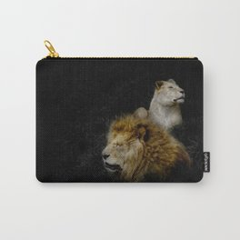 Pride - Lioness and Lion Couple Goals Carry-All Pouch