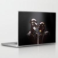 daft punk Laptop & iPad Skins featuring DAFT PUNK by Gregory Casares