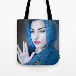 Live long and prosper Tote Bag