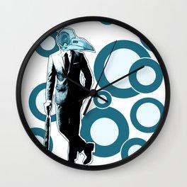 Gentlemen, We got a dead one here.. blue version Wall Clock
