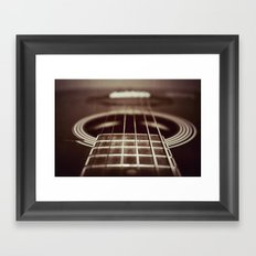 Strings  Framed Art Print